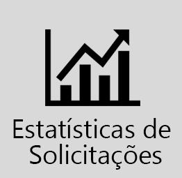 Informações estatísticas relacionadas as solicitações realizadas