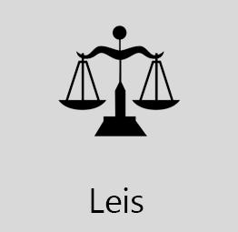 Esta aba apresenta os subitens: Lei Orgânica Municipal, Legislação Municipal...